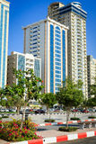 Гостиницы в Рас-Аль-Хайма, ОАЭ Стоковые Фотографии RF