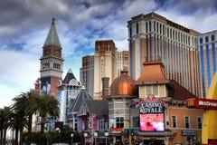 Гостиницы Лас-Вегас Стоковые Изображения