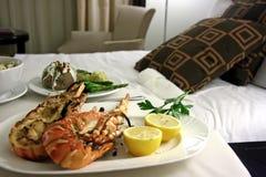 гостиничный сервис омара Стоковая Фотография RF