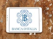 Государственный банк Италии, ` Италия Banca d, логотип Стоковое Изображение RF