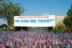 Государственный флаг США Стоковое фото RF