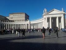 Государство Ватикан Рима стоковое изображение rf