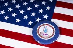 Государство Вирджинии в США стоковая фотография