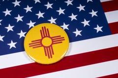 Государство Неш-Мексико в США стоковое изображение
