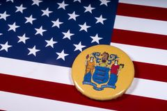 Государство Нью-Джерси в США стоковая фотография rf