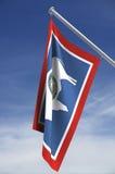 государство флага Вайоминг Стоковые Фото