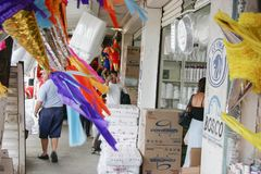 Государство Villahermosa Табаско/Мексика 12/15/2009 Гастрономы в популярном рынке в Villahermosa стоковые фотографии rf