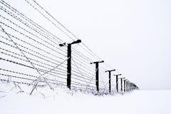 Государственная граница Стоковые Фотографии RF