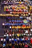 Государственный гимн на строке ямы Стоковые Фото