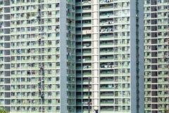Государственный жилой фонд в Гонконге стоковые фотографии rf
