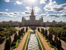 государственный университет moscow lomonosov Стоковые Фотографии RF