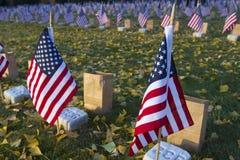 Государственный флаг сша на Gettysburg Стоковые Фотографии RF