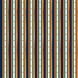 Государственный флаг сша с золотом, безшовным дизайном Стоковая Фотография