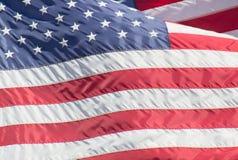 Государственный флаг сша Стоковое Изображение