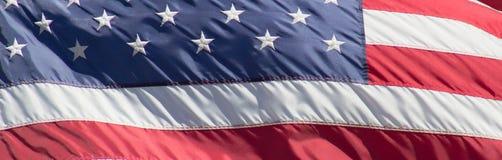 Государственный флаг сша Стоковая Фотография