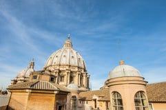 Государство Ватикан в Риме, Италии Стоковые Изображения