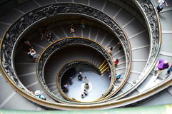 Государство Ватикан музея Ватикана Стоковое Изображение RF