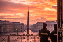Государство Ватикан Рима стоковая фотография rf