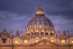 Государство Ватикан Рима стоковое фото