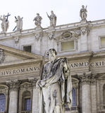 Государство Ватикан Рим базилики St Peters Стоковая Фотография RF