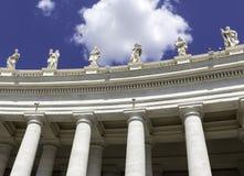 Государство Ватикан Рим базилики St Peters Стоковые Фото