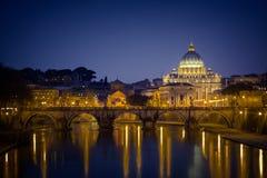 Государство Ватикан St Peter церков стоковая фотография