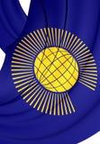 Государство флага наций иллюстрация вектора
