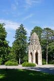 Готическая башня в унылом Janka Krala Стоковая Фотография