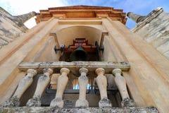 Готическая башня церковного колокола в Севилье, Испании Стоковое Изображение RF