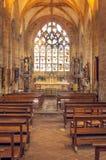 Готическая церковь в французе brittany Стоковое Изображение RF