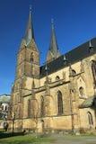 Готическая церковь в Vysoke Myto Стоковые Фотографии RF