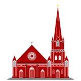 Готическая церковь стиля Стоковая Фотография RF