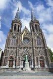 Готическая церковь St Joseph, центр Тилбурга, Нидерланды, стоковые изображения rf