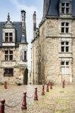 Готические здания в Ле-Ман, Франции Стоковые Изображения