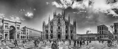 Готические собор милана, aka di Милан Duomo, Италия Стоковое Изображение