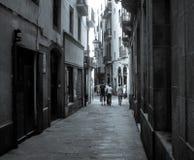 Готические улицы Стоковое Изображение