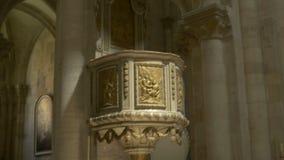 Готический амвон церков видеоматериал