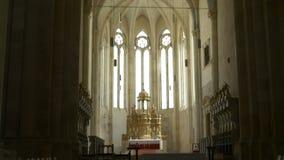 Готический алтар церков акции видеоматериалы
