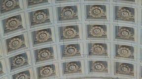 Готический потолок в Манчестере, NH Стоковые Фотографии RF