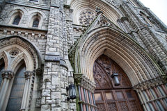 Готический собор в Филадельфии, Пенсильвании Стоковое Фото