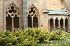 Готический собор Meissen - построил нескольк 100 лет ag Стоковые Изображения
