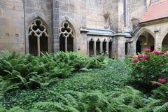 Готический собор Meissen - построил нескольк 100 лет ag Стоковое фото RF