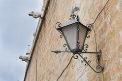 Готический фонарный столб Стоковая Фотография