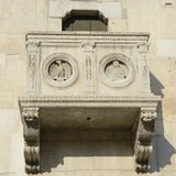 Готическое ЮНЕСКО террасы Стоковые Фотографии RF