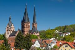 Готическое Marienkirche Gelnhausen Стоковое Изображение RF