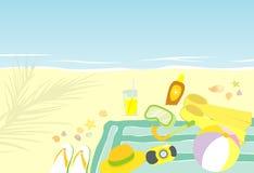 готовое время swim лета Стоковые Изображения