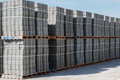 Готовые бетонные плиты Стоковая Фотография