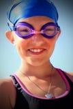 Готовый пловец стоковые фотографии rf