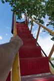 Готовый, установите, взберитесь вверх в небо Стоковая Фотография