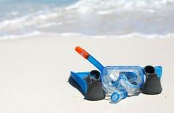 готовый snorkeling Стоковые Изображения